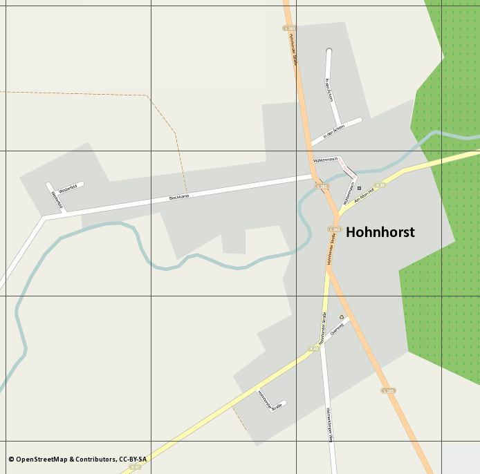 map_hohnhorst